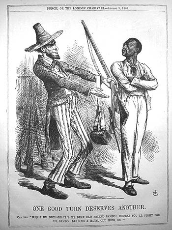 the effects of abraham lincolns emancipation proclamation on the economy of the south Abraham lincoln repeatedly stated his war was caused by taxes only  lincoln  did not claim slavery was a reason even in his emancipation proclamations  on  april 29, 1861, president jefferson davis described the south's.