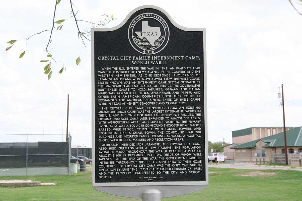 Texas Historical Marker 2007. Photo courtesy of Linda Harms Okazaki