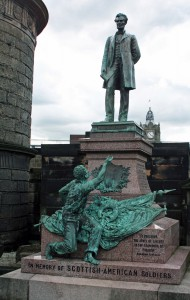 Fig. 1: Scottish-American Soldiers' Memorial, Edinburgh, George E. Bissell, 1893. Image author's own.
